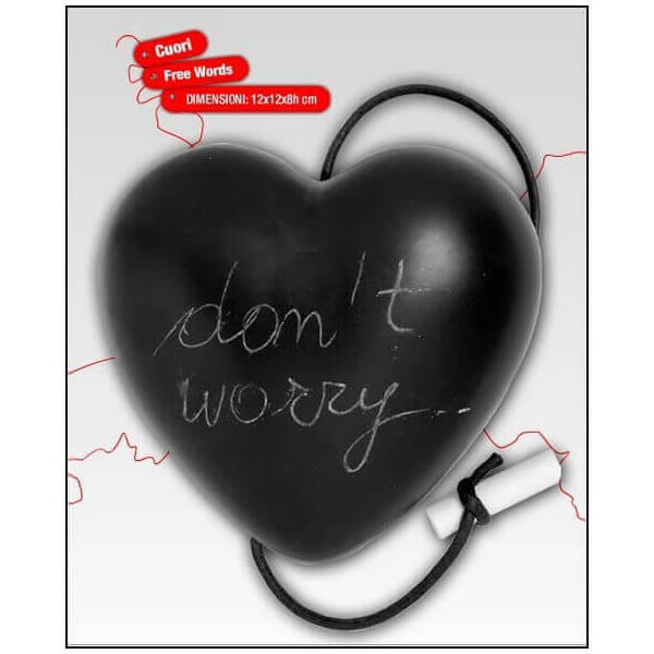 Coeur ardoise Message 161