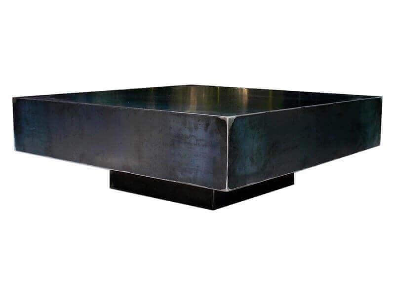 Fabriquer une table basse en fer - Fabriquer sa table de salon ...