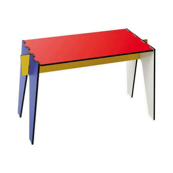 Table basse d 39 appoint design mondrian for Table basse d appoint
