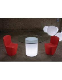 Table lumineuse Arthur Slide ronde