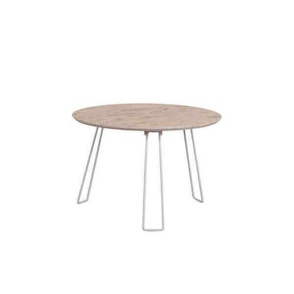 Table basse d 39 appoint pliable en bois osb et acier design for Table exterieur osb