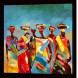 Oil painting Africa