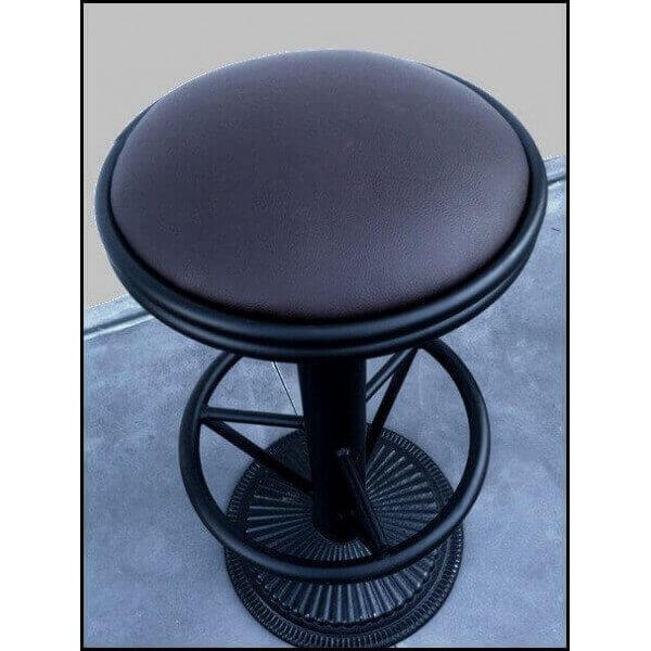 tabouret bar industriel bistrot. Black Bedroom Furniture Sets. Home Design Ideas