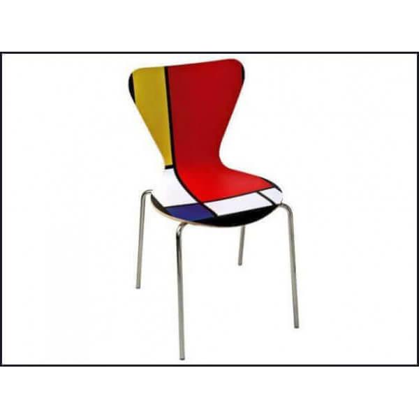 Chaise Mondrian 279