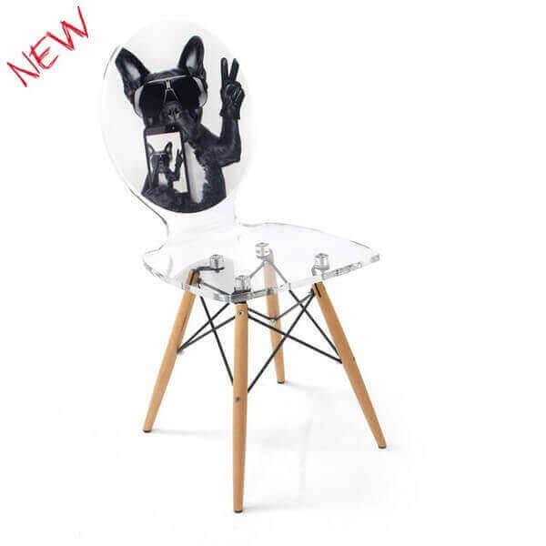 Acrila chaise insolite graph transparente mobilier unique et tr s d coratif - Avis mobilier unique ...