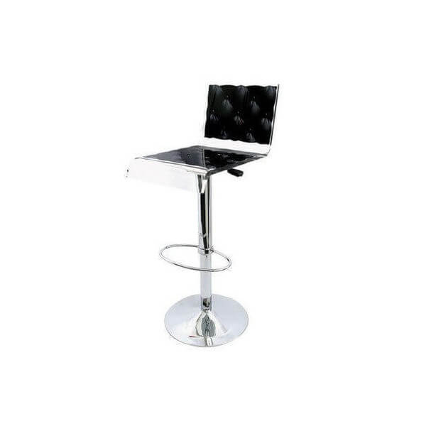 tabouret capiton acrila chaise haute en acrylique. Black Bedroom Furniture Sets. Home Design Ideas