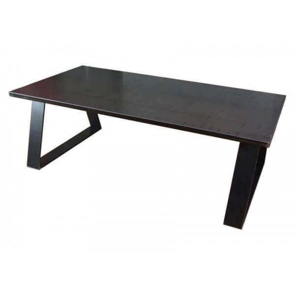 Design Steel Low Table Contempory For Modern Loft