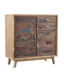 Scandinavian wood cabinet