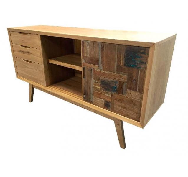 buffet commode design bois massif. Black Bedroom Furniture Sets. Home Design Ideas