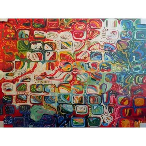 Tableau pop Mozaic