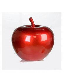 Pomme rouge métallisée