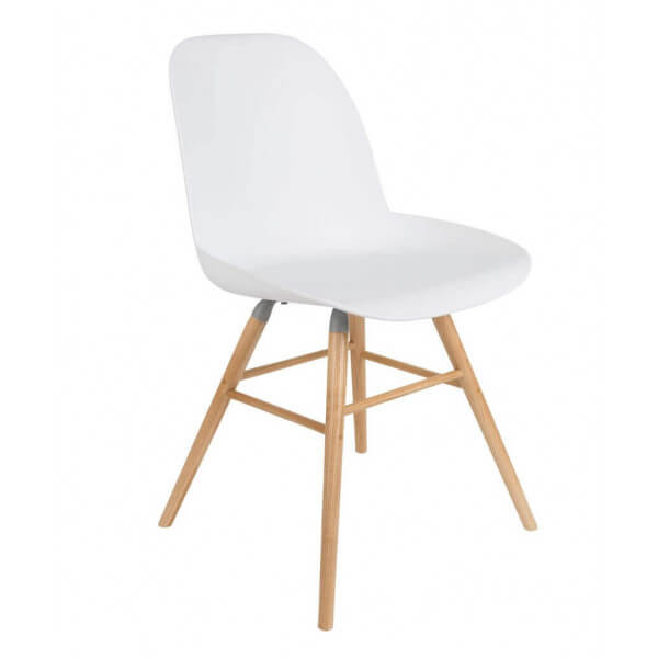 Chaise design Zuiver blanc
