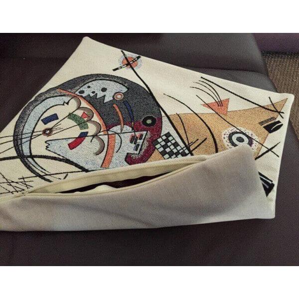 Coussin Brod Kandinsky Housse Pour Cousin Art D Co Pop