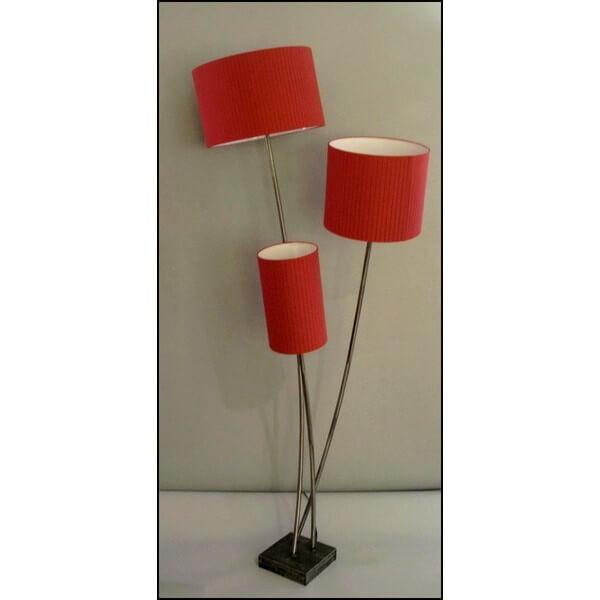 Lampadaire design 3 branches luminaires contemporains lampes de bureaux s - Lampadaire plusieurs branches ...