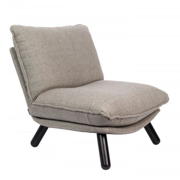 Fauteuil Lazy Sack zuiver gris