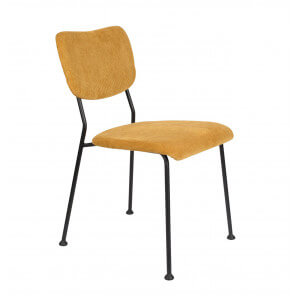 Yellow Benson dining Chair