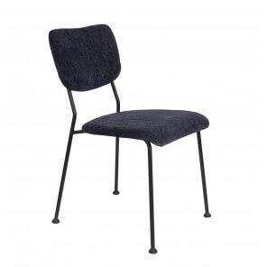 Chaise de repas Benson zuiver bleu foncé