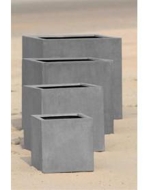 4 Concrete plant pots Rockstone