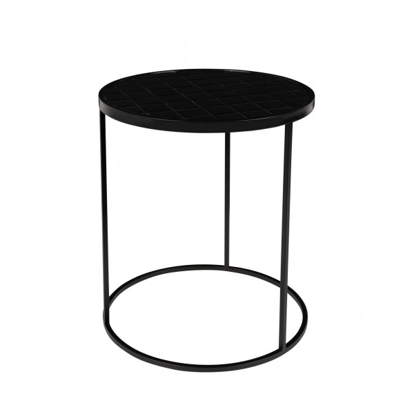 Table ronde Glazed zuiver