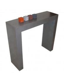 Concrete console