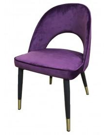 Purple Artdec chair