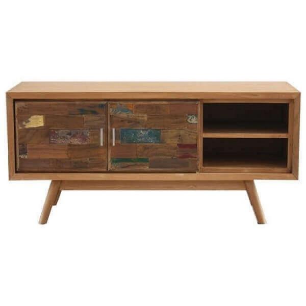 WOOD - 136 cm TV cabinet