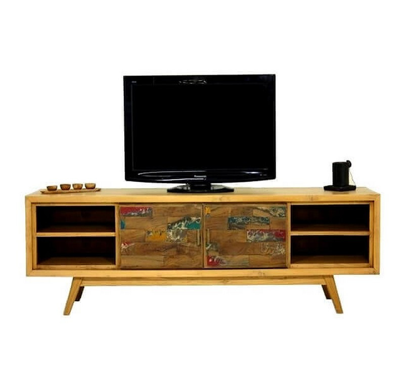 Wood Tv Unit 180 Cm