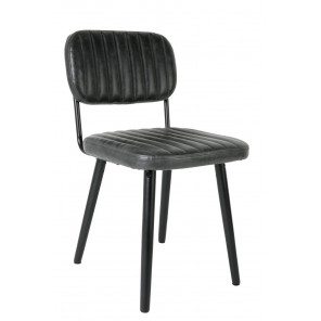 Chaise Jeka noir