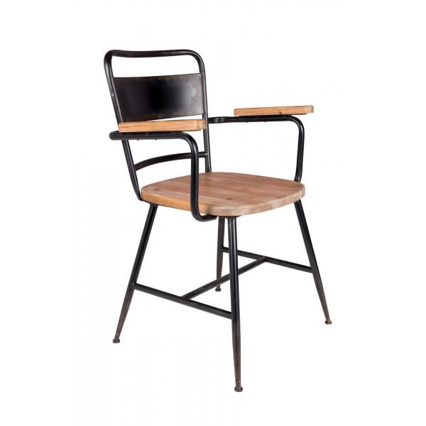 Chaise bistro école industrielle