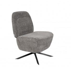 Dusk - Light grey Lounge chair
