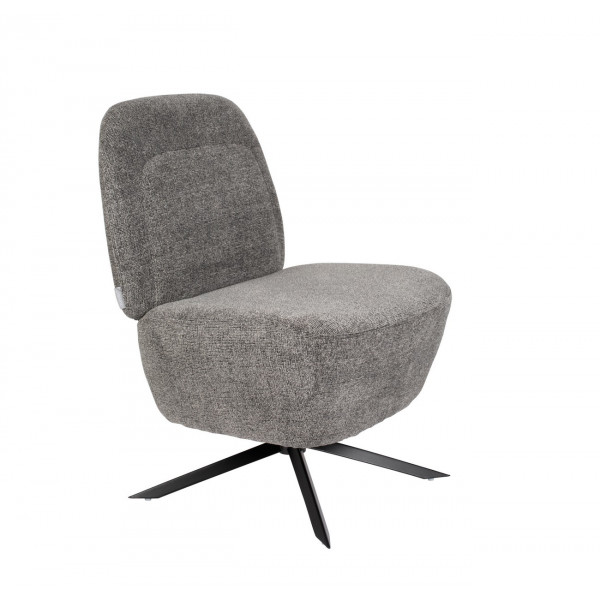 Dusk - Light grey Lounge chair