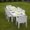 Outdoor dining table Jut Vondom