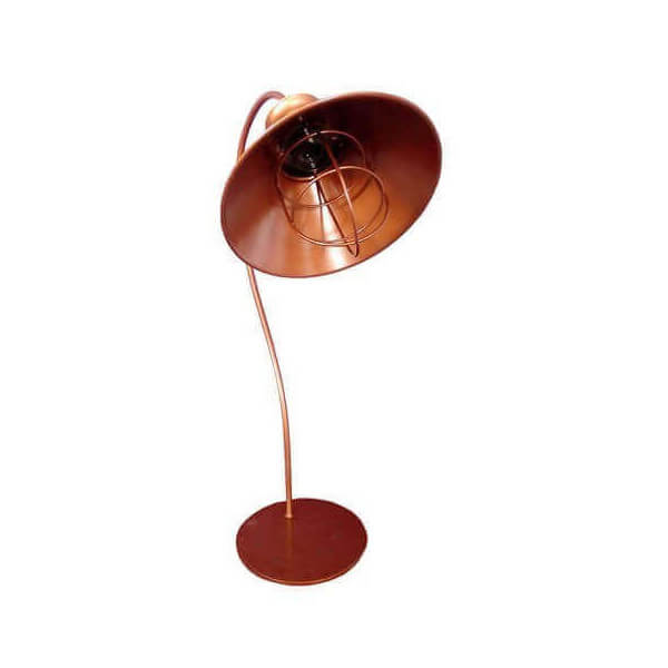 Lampe rétro Cuivre 1104