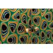 décoration intérieur laiton plume paon