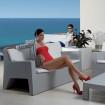 Grey Sofa Jut with cushion