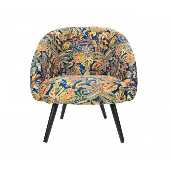 Arm chair Clayton Sumatra Caraibes