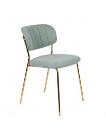 BELLAGIO - Chaise de repas vert clair