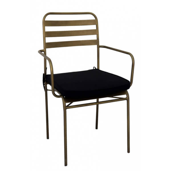 Dining chair-brass