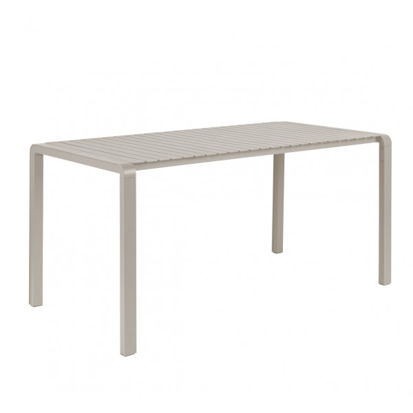 VONDEL - Table de jardin Argile