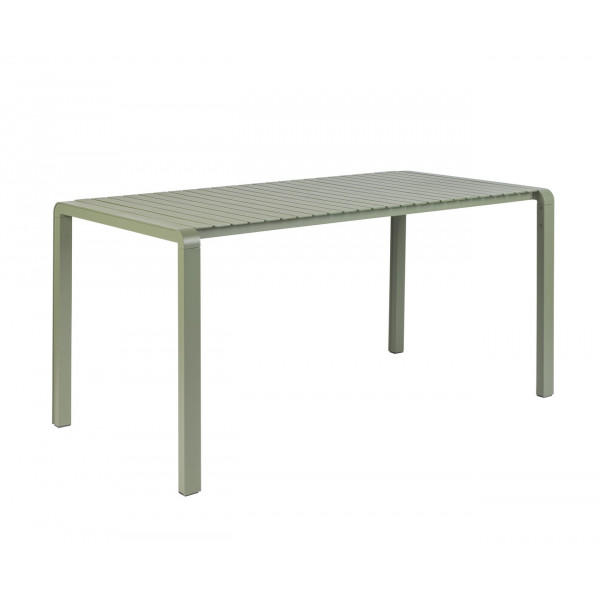 VONDEL - Table de jardin verte zuiver