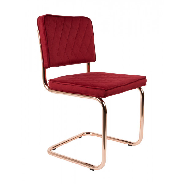 DIAMOND - Chaise Rouge Royal Zuiver