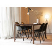 STORM - Dining table clear Ash wood