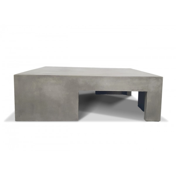 BETON - Table basse carrée Cubic