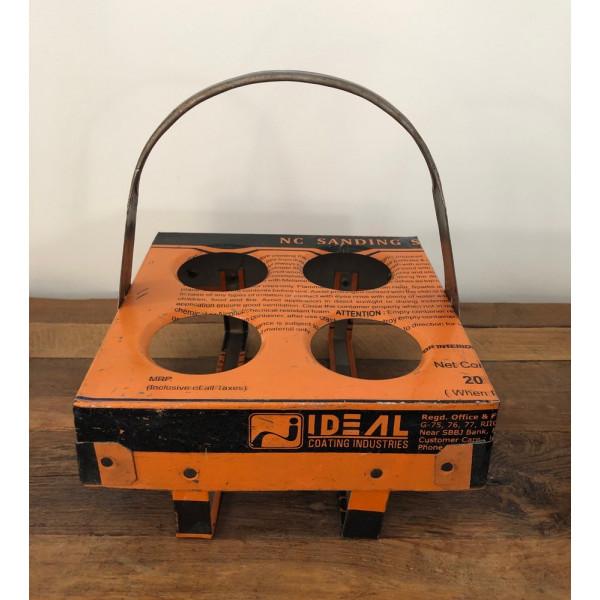 Plateau-support pour verres industriel orange