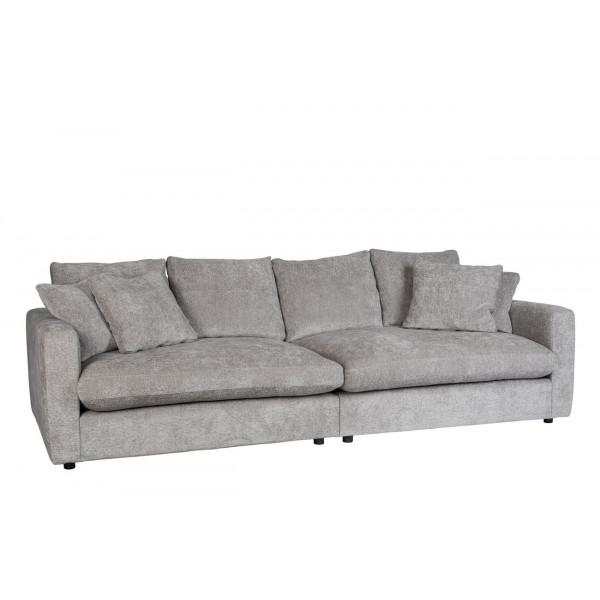 SENSE - Light grey sofa by Zuiver