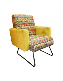 Fauteuil fifties retro pop