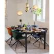 chaise repas design zuiver mia orange