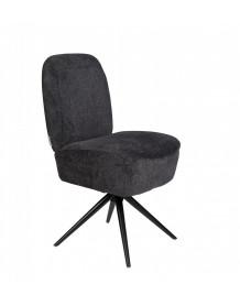 DUSK - Dark grey chair