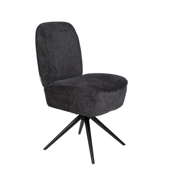 DUSK - chaise design anthracite zuiver