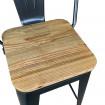 Assise bois chaise haute
